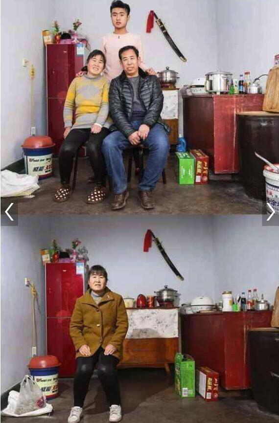 Những bức ảnh gia đình trong và sau kỳ nghỉ Tết khiến nhiều người không khỏi cay mắt - Ảnh 1.
