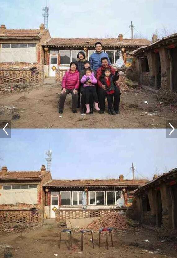 Những bức ảnh gia đình trong và sau kỳ nghỉ Tết khiến nhiều người không khỏi cay mắt - Ảnh 6.