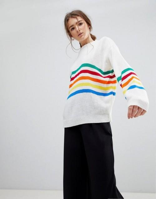 Tết 2018 đẹp rạng ngời với 16 items thời trang mang họa tiết cầu vồng - Ảnh 2.