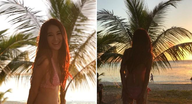 Ở tuổi 51, đệ nhất hồ ly màn ảnh Hong Kong Ôn Bích Hà vẫn cực kỳ sexy với bikini - Ảnh 1.