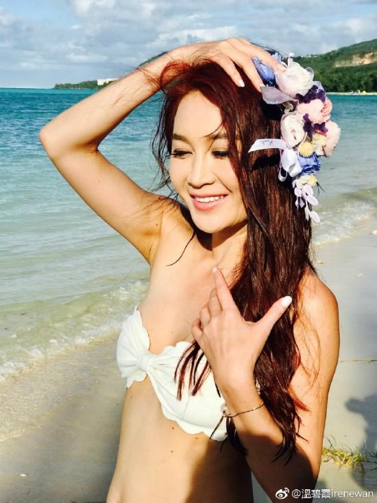 Ở tuổi 51, đệ nhất hồ ly màn ảnh Hong Kong Ôn Bích Hà vẫn cực kỳ sexy với bikini - Ảnh 2.