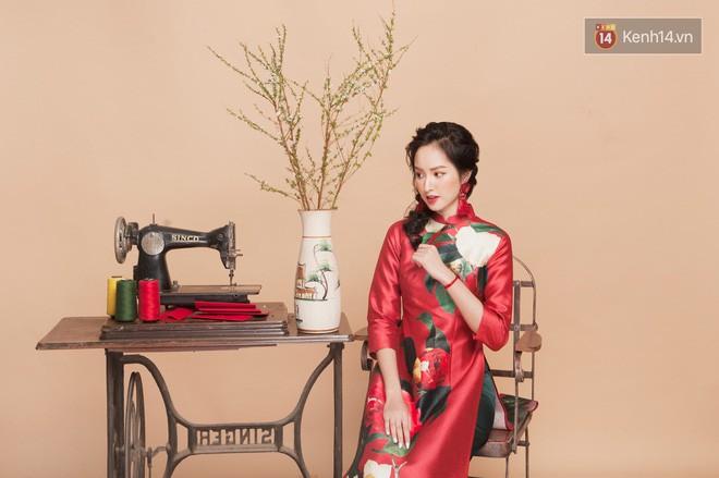 Tết này mặc áo dài: Sun HT, Mẫn Tiên, Lê Vi diện 15 mẫu áo dài cực xinh mà hẳn là bạn cũng đang cần tìm mua chúng - Ảnh 3.
