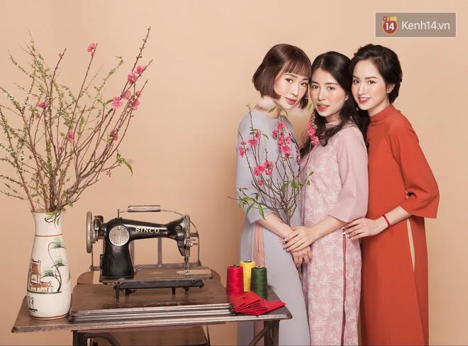 Tết này mặc áo dài: Sun HT, Mẫn Tiên, Lê Vi diện 15 mẫu áo dài cực xinh mà hẳn là bạn cũng đang cần tìm mua chúng - Ảnh 14.