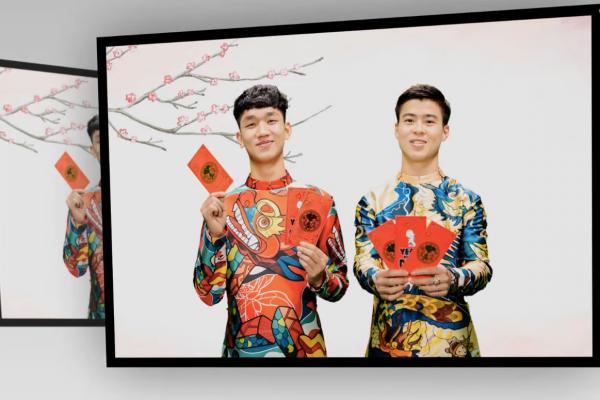 Clip: Bộ đôi 'soái ca' U23 Duy Mạnh - Trọng Đại bật mí mẫu người yêu lý tưởng nhân dịp Valentine - ảnh 5