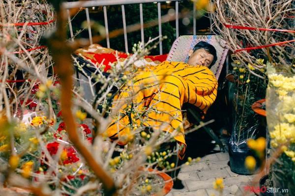 Co ro trắng đêm bán dịp Tết, người nông dân vẫn thấp thỏm vì tâm lý đợi đêm 30 mua hoa giờ chót - Ảnh 5.