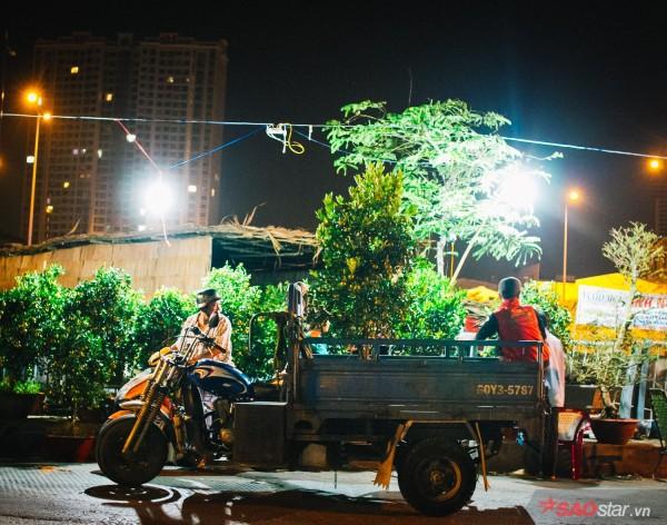 Co ro trắng đêm bán dịp Tết, người nông dân vẫn thấp thỏm vì tâm lý đợi đêm 30 mua hoa giờ chót - Ảnh 9.
