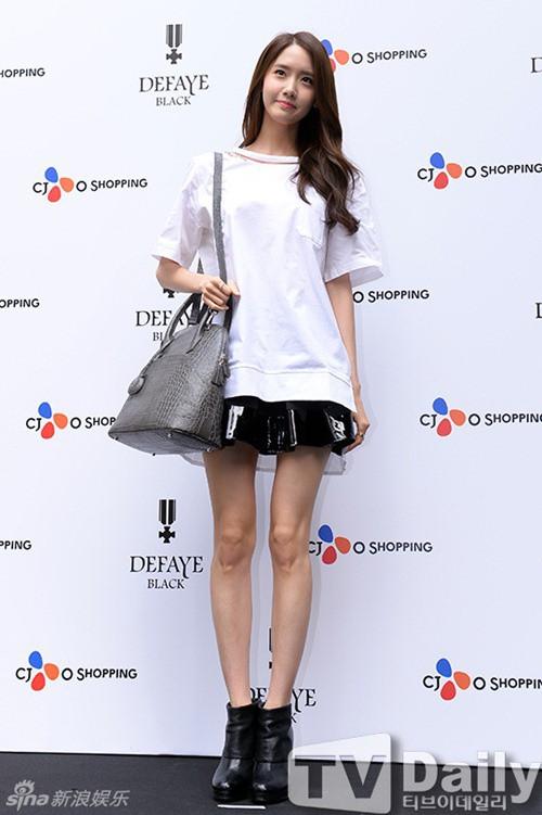 Xinh đẹp là thế, nhưng vì nhược điểm này mà Yoona nên tránh xa những kiểu váy ngắn - Ảnh 6.