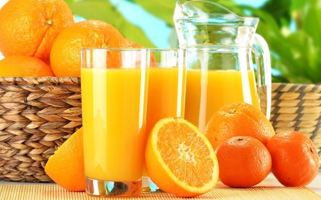 Điều gì xảy ra nếu cho người ốm uống nước cam? - Ảnh 1.