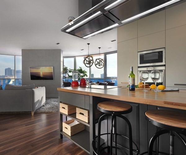 Căn hộ chung cư thiết kế hòa hợp theo phong cách Á-Âu - Ảnh 4.