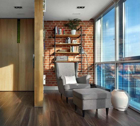 Căn hộ chung cư thiết kế hòa hợp theo phong cách Á-Âu - Ảnh 8.