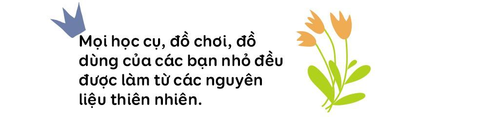"""Trường mẫu giáo lạ lùng giữa Sài Gòn: không có lớp học để trẻ thỏa sức """"dầm mưa dãi nắng"""" cả ngày - Ảnh 11."""
