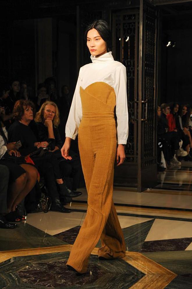 Tẩm ngẩm tầm ngầm là thế mà Kim Dung Next Top đã trúng đến 4 show tại London Fashion Week - Ảnh 6.