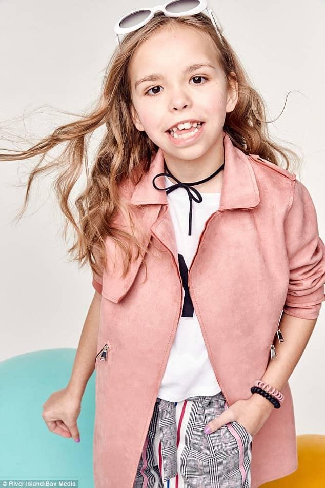 Trẻ em khuyết tật trở thành người mẫu chuyên nghiệp trong chiến dịch mới của thương hiệu thời trang - Ảnh 6.