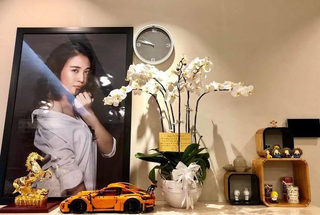 Ngắm căn hộ hạng sang với view ngắm Sài Gòn tuyệt đẹp của bạn gái Cường Đôla - Ảnh 9.