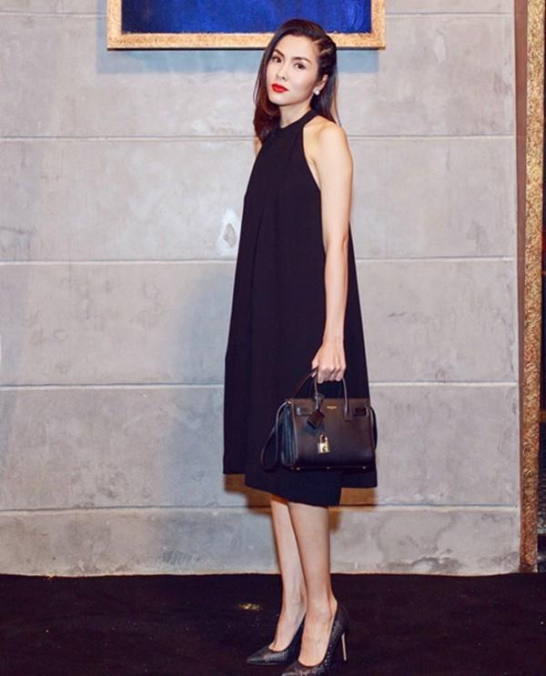 Nhìn lại phong cách của bà bầu đẹp nhất Vbiz Tăng Thanh Hà qua 3 lần bầu bí - Ảnh 8.