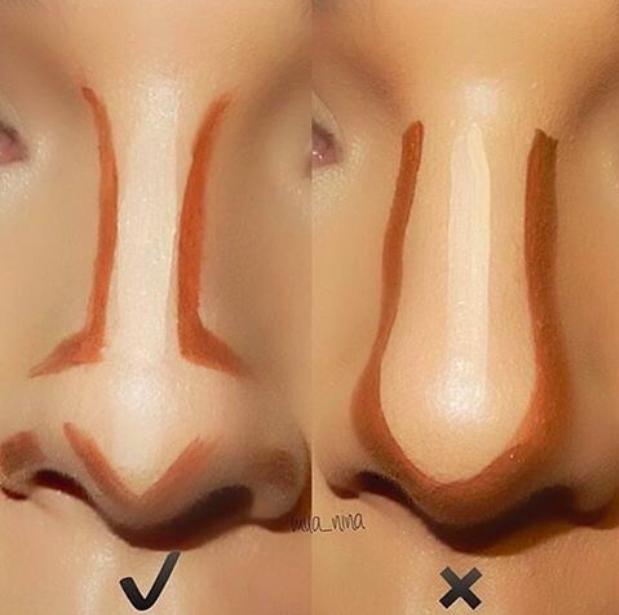 Chẳng cần tốn tiền thẩm mỹ, dáng mũi bạn có thế nào thì cũng chỉ cần vài bước trang điểm là cao, thon tức thì - Ảnh 4.