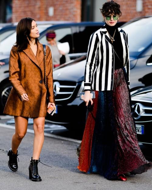Street style đầy màu sắc của các tín đồ thời trang tại Milan Fashion Week Fall 2018 - Ảnh 12.