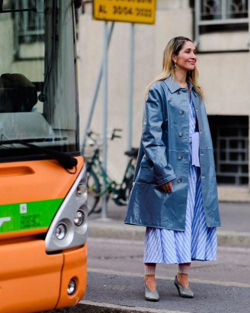 Street style đầy màu sắc của các tín đồ thời trang tại Milan Fashion Week Fall 2018 - Ảnh 9.