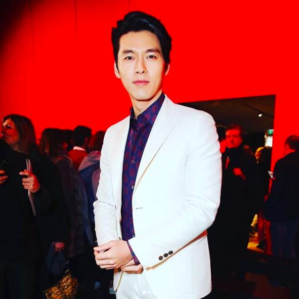 Hyun Bin thần thái ngút trời trên ghế đầu show thời trang tại Milan Fashion Week - Ảnh 4.