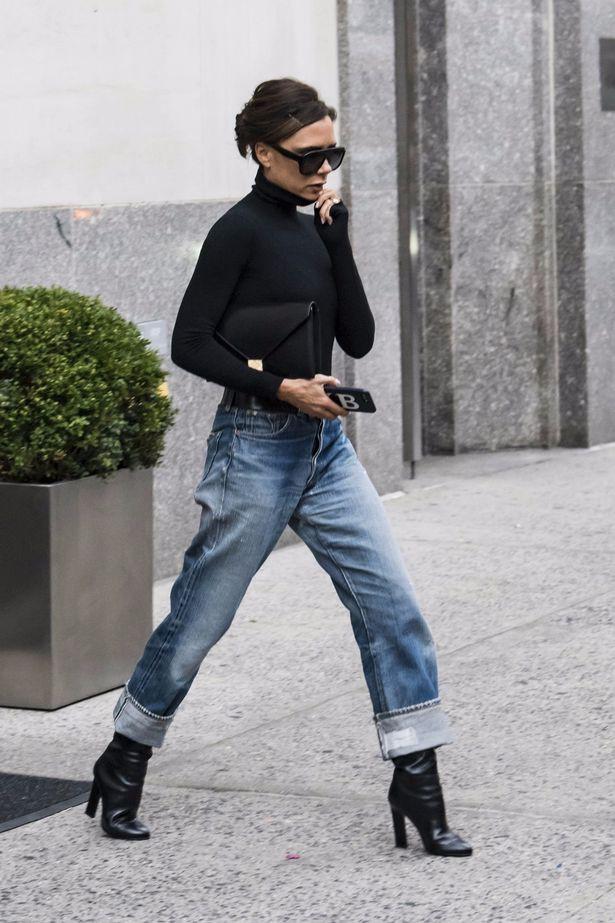 Victoria Beckham và những chiếc quần jeans chẳng mấy khi giặt - Ảnh 6.