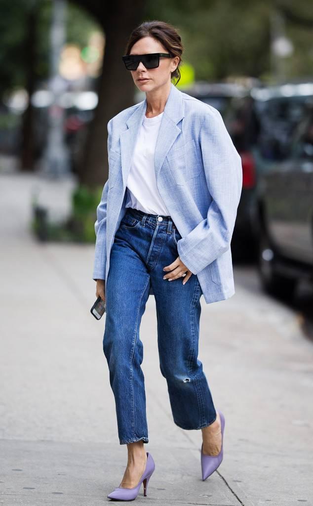 Victoria Beckham và những chiếc quần jeans chẳng mấy khi giặt - Ảnh 2.