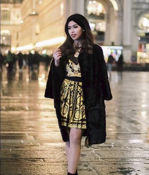 Thảo Tiên - em chồng Hà Tăng sang chảnh ở trời Âu dự show thời trang, mang theo cả núi đồ hiệu - Ảnh 10.
