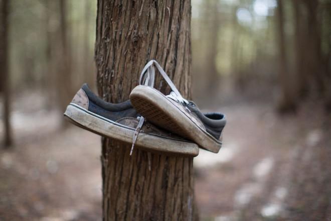 Khu rừng bí ẩn ở Canada: Hàng trăm đôi sneakers bị đóng đinh lên cây, không ai biết lý do vì sao - Ảnh 21.