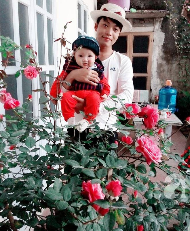 Ngôi nhà hoa hồng đẹp như thơ ở Hưng Yên của ông bố đơn thân quyết phá sân bê tông để thực hiện ước mơ - Ảnh 1.