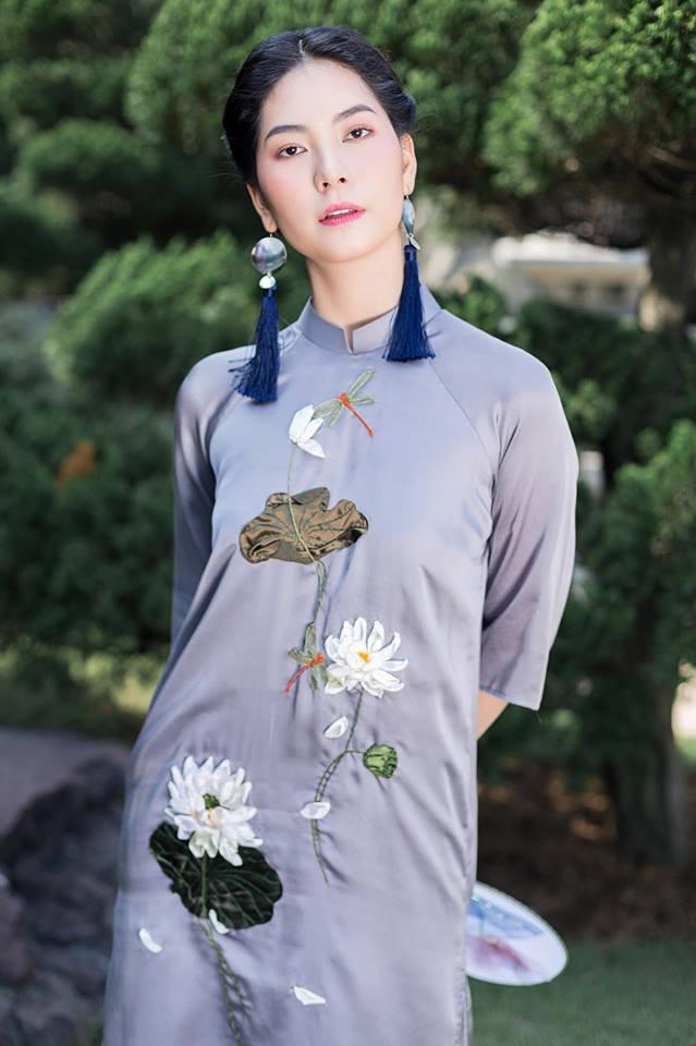 Ngày Tết muốn diện áo dài thật duyên dáng , đừng bỏ qua 5 kiểu tóc cực xinh này nhé! - Ảnh 7.