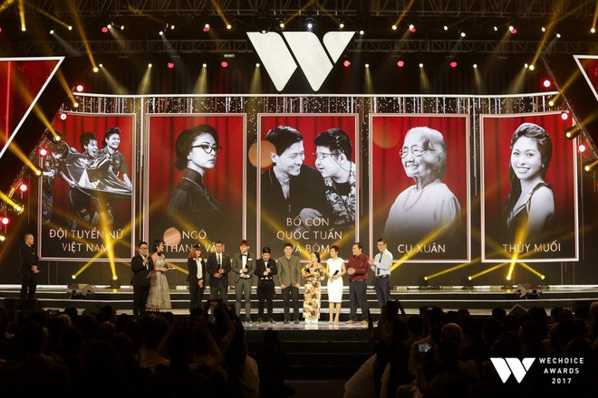 Nguồn cảm hứng màu đỏ từ U23 Việt Nam khiến sân khấu WeChoice Awards bùng nổ - Ảnh 6.