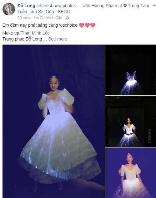 Diện đầm phát sáng, Phạm Hương chính là công chúa sáng nhất Gala WeChoice Awards 2017 theo cả nghĩa đen lẫn nghĩa bóng - Ảnh 6.