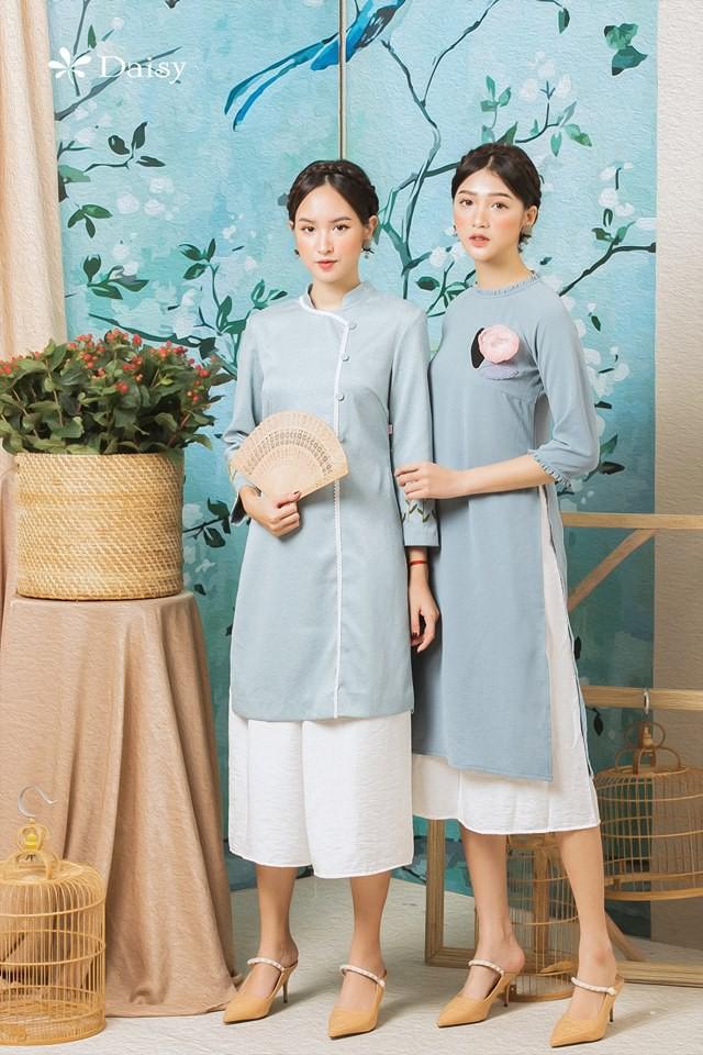 3 công thức diện áo dài cách tân đẹp miễn chê trong Tết này - Ảnh 1.