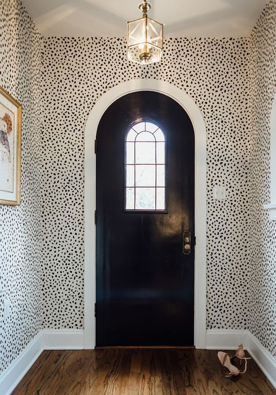 25 ý tưởng trang trí lối ra vào để không gian nhà ở của bạn thêm sống động, ấm áp - Ảnh 1.