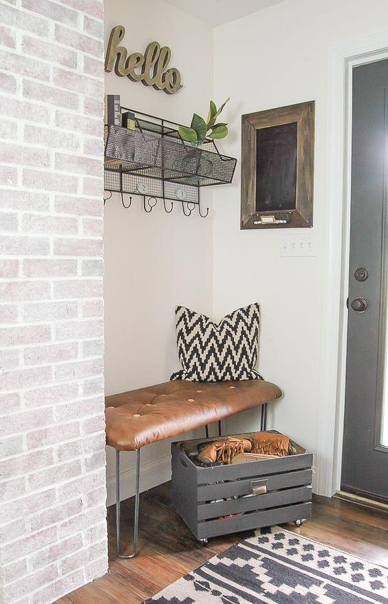 25 ý tưởng trang trí lối ra vào để không gian nhà ở của bạn thêm sống động, ấm áp - Ảnh 14.