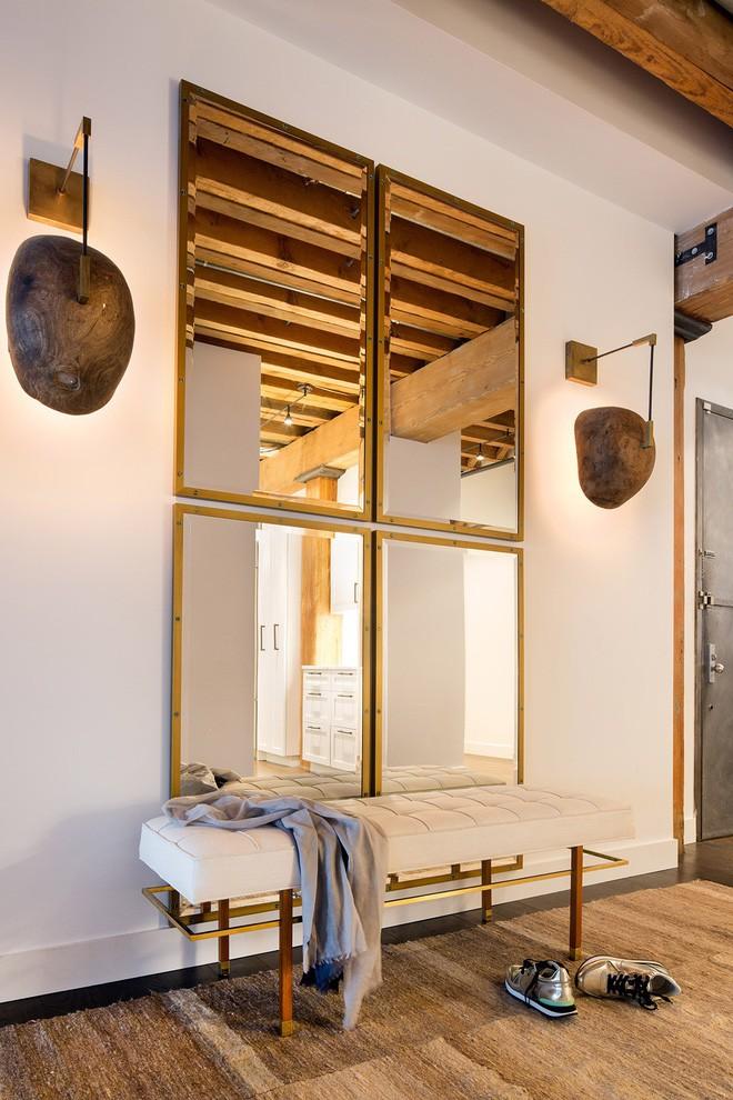25 ý tưởng trang trí lối ra vào để không gian nhà ở của bạn thêm sống động, ấm áp - Ảnh 15.