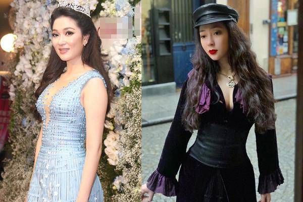Tái xuất sau 13 năm đăng quang, có ai nhận ra Hoa hậu Nguyễn Thị Huyền với chiếc cằm dài khác lạ này - Ảnh 3.