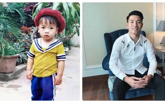 Hình ảnh hồi bé của cầu thủ U23 khiến HLV Park Hang Seo đau đầu trên sân khấu giao lưu - Ảnh 1.