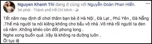 Khánh Thi buồn bã vì những tục lệ hà khắc dành cho bà bầu ngày Tết - Ảnh 2.