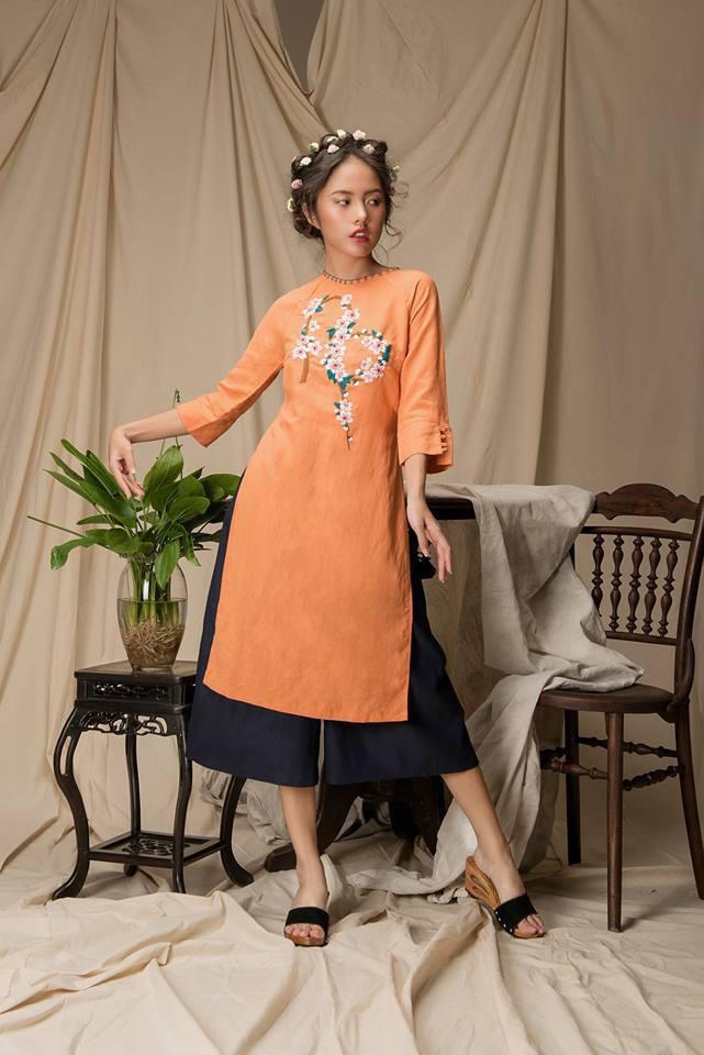 2 công thức diện áo dài cách tân đẹp miễn chê trong Tết này - Ảnh 5.