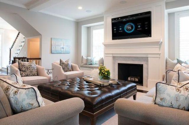 Mẹo hay trang trí với ghế đệm dài siêu to giúp ngôi nhà thêm khang trang, sáng sủa - Ảnh 8.