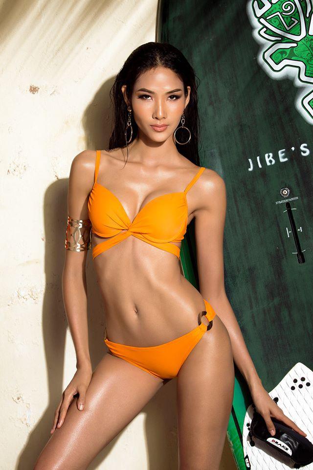 Hoàng Thùy bất ngờ giành giải Best Face của Hoa hậu Hoàn vũ 2017 - Ảnh 1.