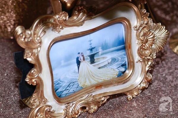Cận cảnh không gian đám cưới lộng lẫy của Lâm Khánh Chi và chồng kém 8 tuổi - Ảnh 11.