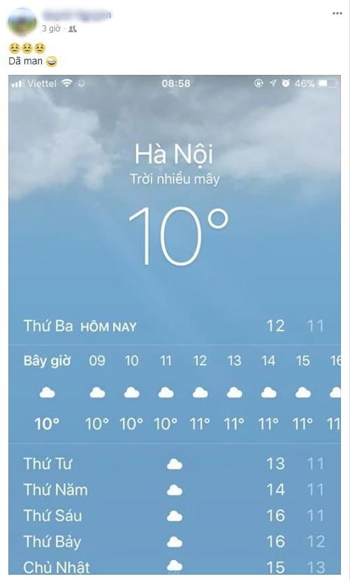 Hình ảnh được chia sẻ nhiều nhất ngày hôm nay: Bảng báo nhiệt độ tụt xuống số 9, Hà Nội lạnh teo như Bắc Cực - Ảnh 5.