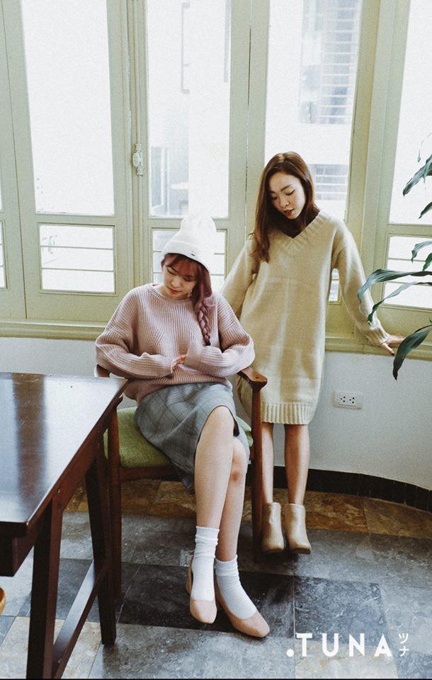 Tết này dự báo trời lạnh, và đây là những mẫu váy len vừa đẹp vừa ấm dành cho các nàng - Ảnh 4.