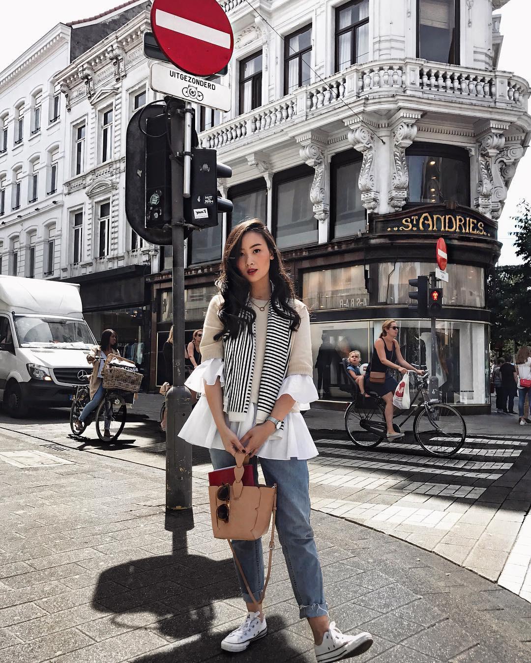 Phong cách thời trang street style chưa bao giờ ngưng hạ nhiệt