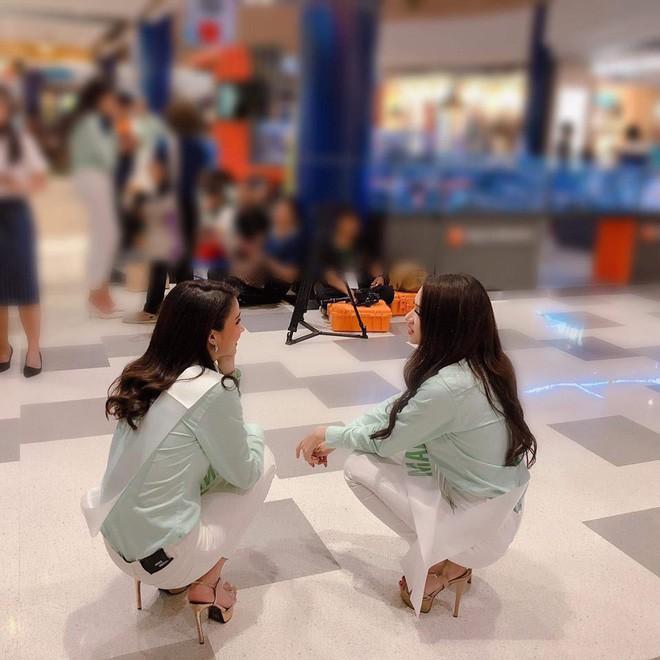 Vẻ nóng bỏng của người bạn thân nhất với Hương Giang tại Hoa hậu Chuyển giới Quốc tế - Ảnh 1.