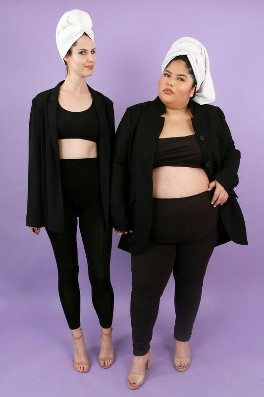 2 cô nàng này sẽ chứng minh cho bạn thấy: ai cũng có thể ăn vận sexy như Kim Kardashian mà chẳng cần dáng đẹp - Ảnh 4.
