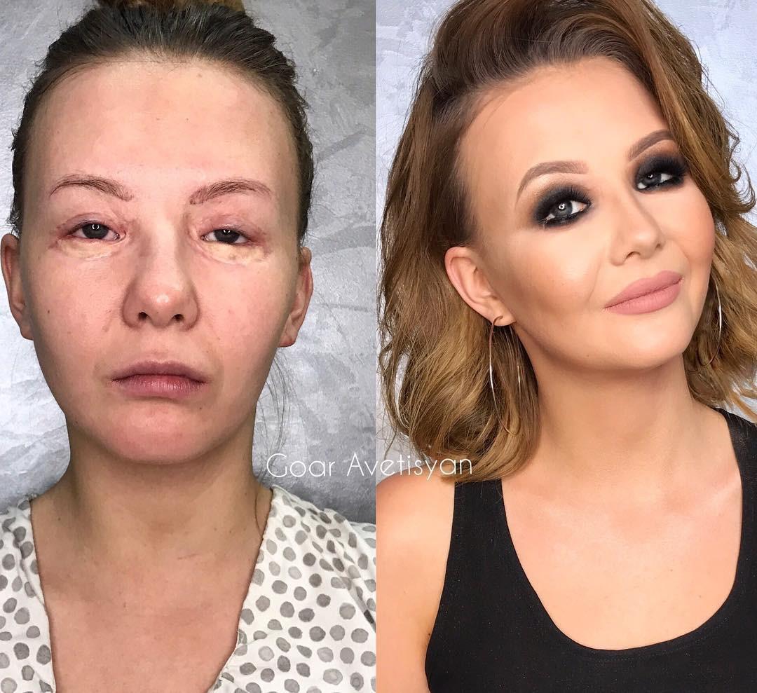 Как скрыть недостатки на лице макияж фото
