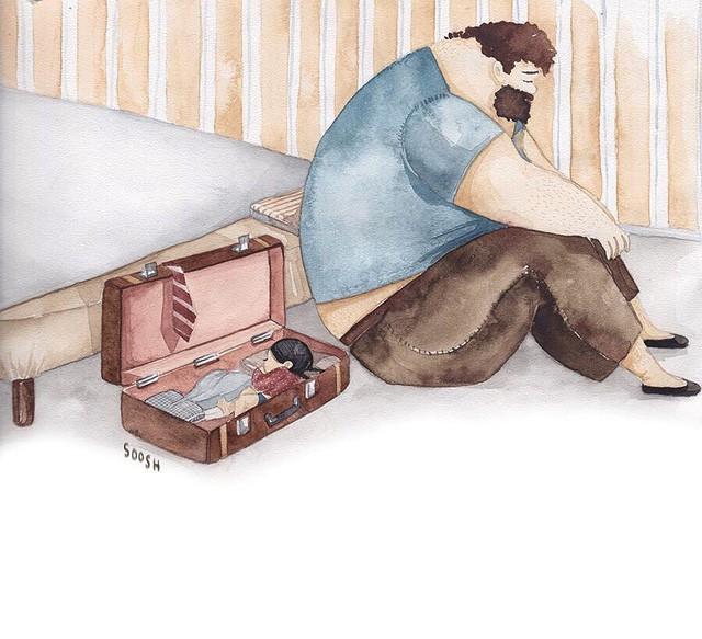 Phần tiếp theo của bộ tranh Vì con gái nhỏ, cha sẽ làm tất cả từng khiến cư dân mạng rưng rưng - Ảnh 12.