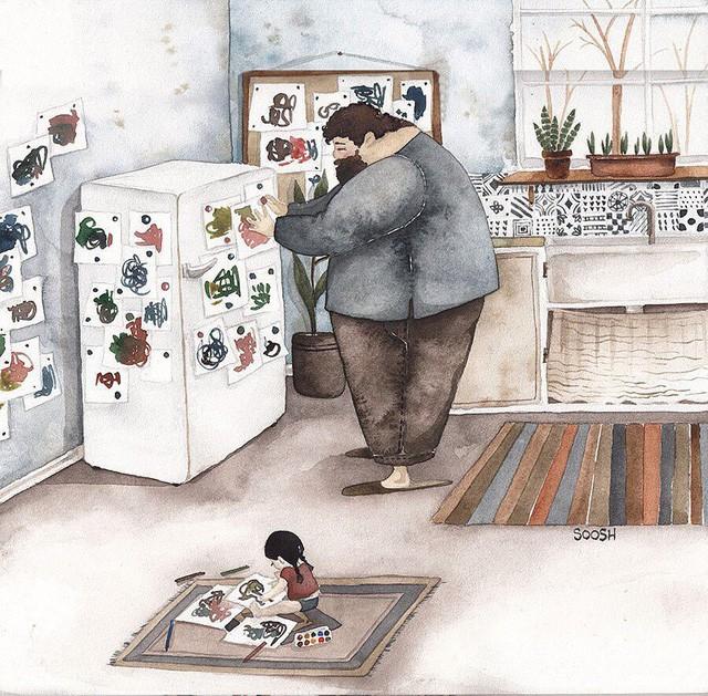 Phần tiếp theo của bộ tranh Vì con gái nhỏ, cha sẽ làm tất cả từng khiến cư dân mạng rưng rưng - Ảnh 8.